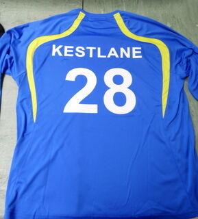 Lämpöpaino jalkapallo paidalle 28